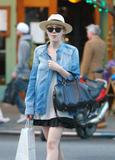 Dakota Fanning | Shopping in NYC | April 4 | 13 pics