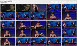 Anne Hathaway @ The Daily Show w/Jon Stewart 2013-01-07