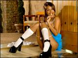 Busty Priya Rai dressed as naughty schoolgirl - picture no. 51