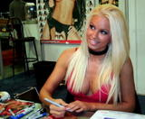 Maryse Ouellet Blazin' In Blue Foto 303 (Мариз Уэлле Blazin 'In Blue Фото 303)
