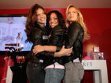 Adriana Lima, Karolina Kurkova and Selita Ebanks - Victoria's Secret Super Bowl VIP Salon in celebration of the 42nd Annual Super Bowl in Paradise Valley