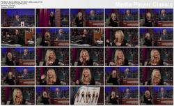 Kaley Cuoco @ Late Show w/David Letterman 2010-04-21